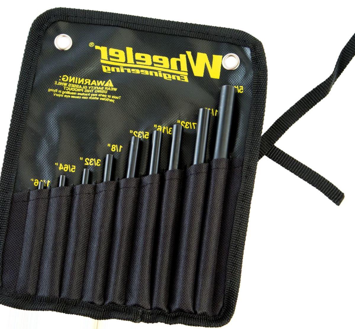 Wheeler® Roll-Pin Starter Punch Set