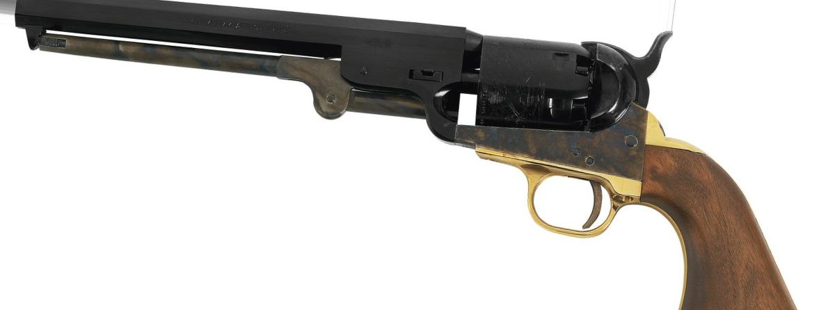 "Pietta Model 1851 Navy ""Yank"" .36-Caliber Black Powder Revolver"