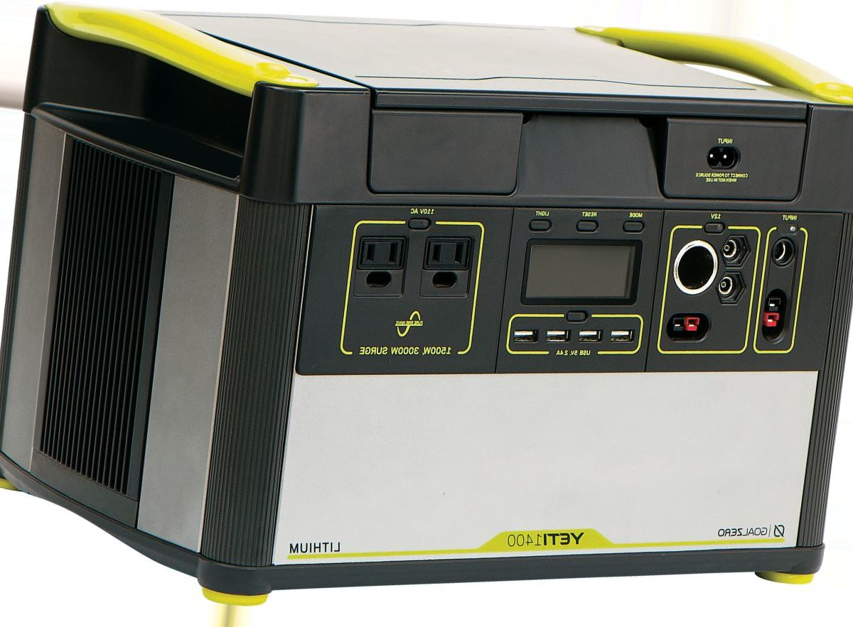 Goal Zero® Yeti 1400 Lithium Portable Power Generator