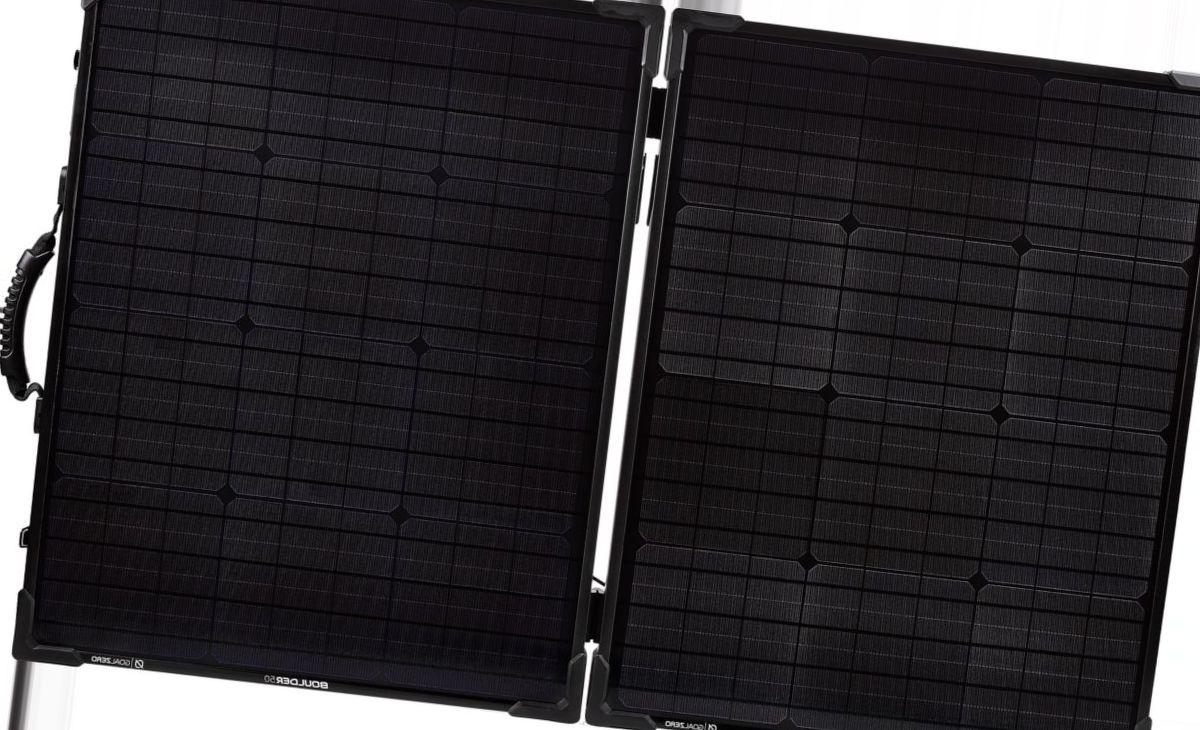 Goal Zero® Boulder 100 Briefcase Solar Panel