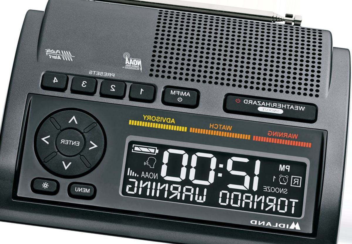 Midland® S.A.M.E. WR400 Weather Alert Radio