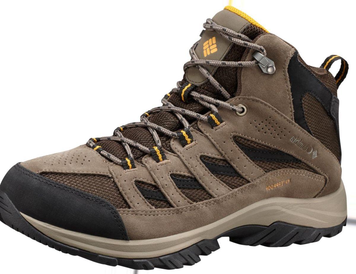 Columbia® Men's Crestwood Waterproof Mid Hikers