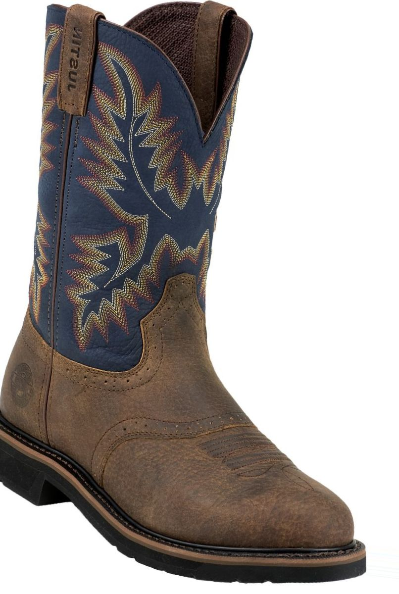 Justin Boots® Men's Stampede Copper Kettle Rowdy Western Boots
