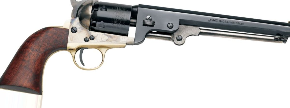 "Pietta Model 1851 Navy Yank ""Old West"" .36-Cal. Black-Powder Revolver"