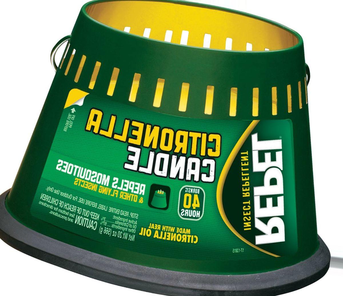 Repel® Citronella Three-Wick Insect-Repellent Candle