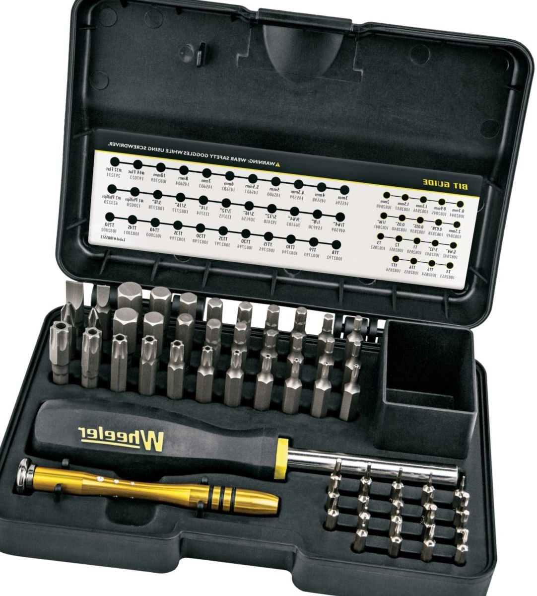 Wheeler® 55-Piece Hex and Torx® Screwdriver Set