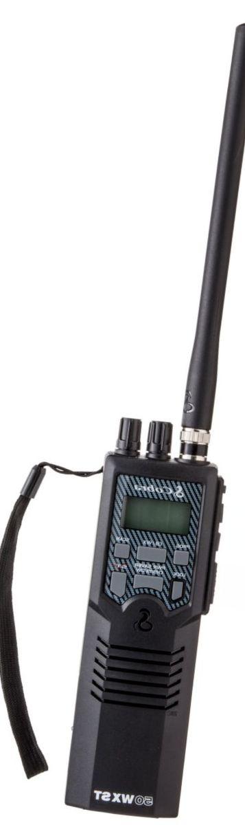 Cobra® HH 50 WX ST Handheld Two-Way CB Radio