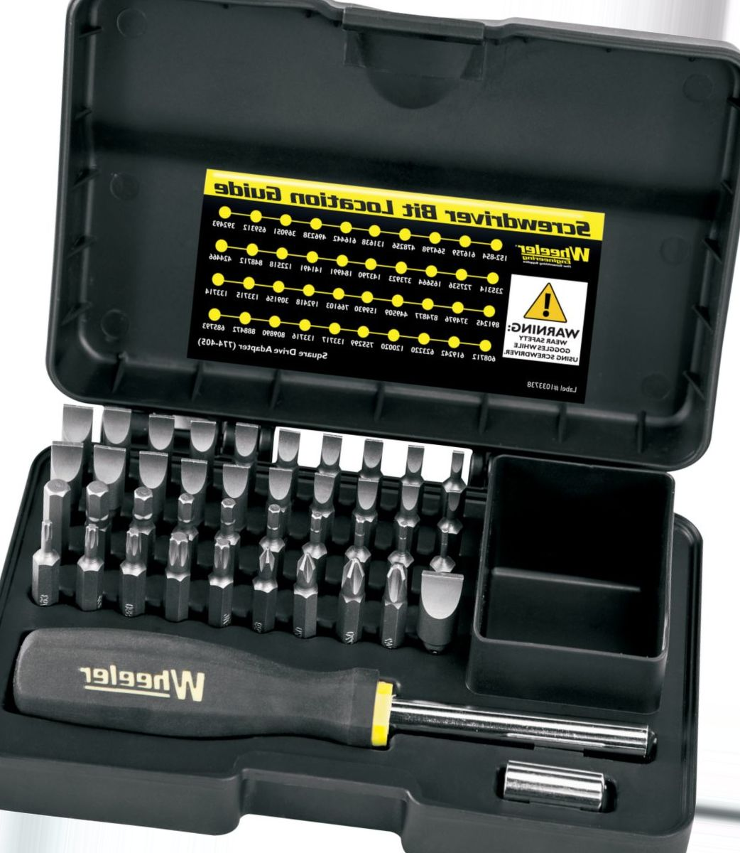 Wheeler® 43-Piece Professional Screwdriver Set