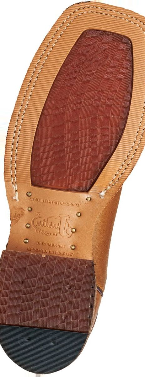 Justin Boots® Men's Copper Caprice Bent Rail® BR743 Western Boots
