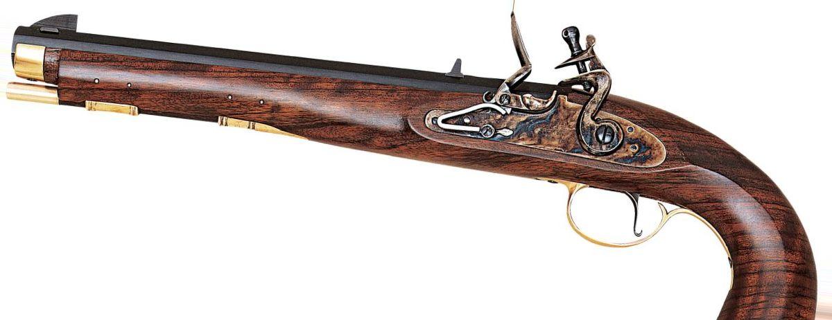 Pedersoli .45-Cal. Kentucky Flintlock Pistol