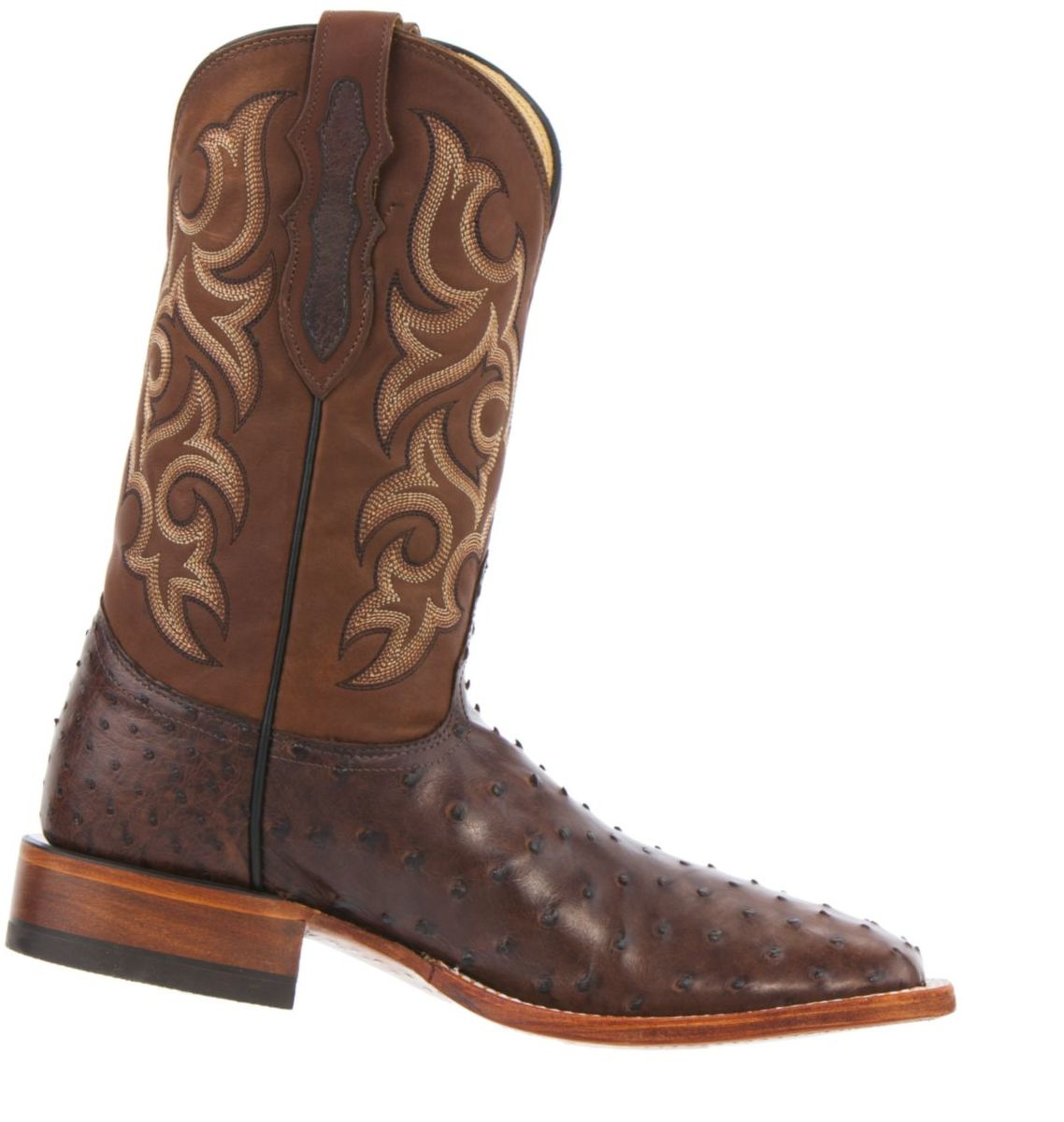Justin Boots® Men's Tobacco Full-Quill Ostrich Western Boots