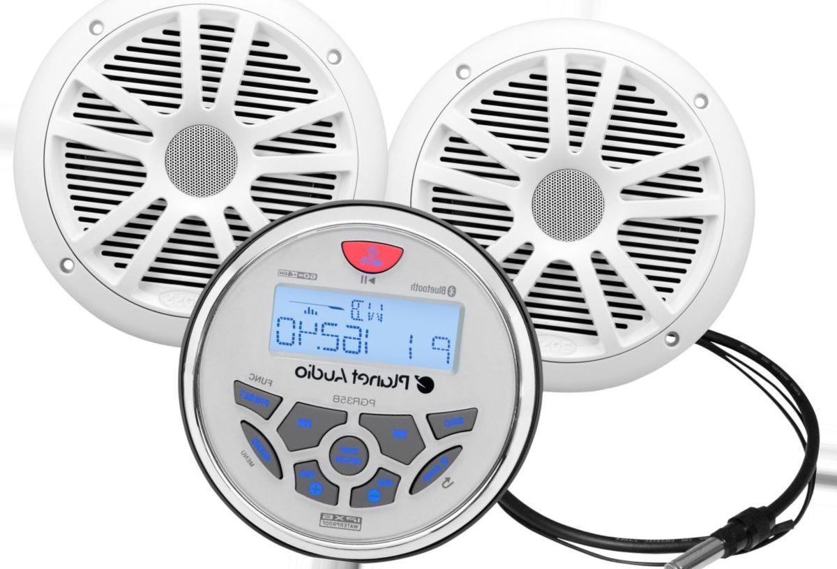 Planet Audio® In-Dash Bluetooth® Marine Gauge Receiver Set