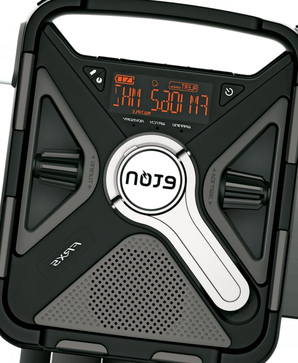 etón FRX5-BT Large AM/FM Weather Radio with USB Charger