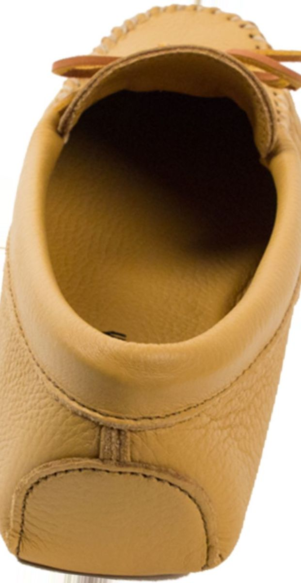 Minnetonka Men's Double Deerskin Softsole Slippers