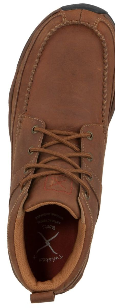 Twisted X Men's Brown Hiking Moccasins