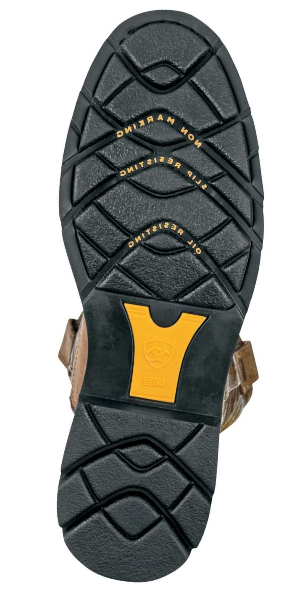 Ariat® Men's Sahara Pull-On Roper Work Boots