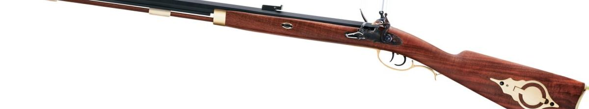 Pedersoli Traditional Flintlock Hawken Rifle