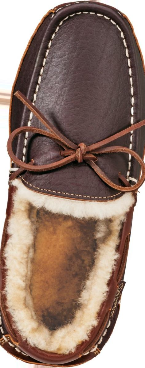 Bob Timberlake® Men's Bison Lined Slippers