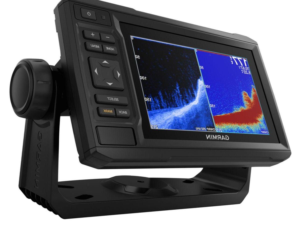 Garmin® ECHOMAP™ Plus 64cv GPS Fishfinder/Chartplotter Combo with GT23 Transducer and BlueChart® g3 Charts