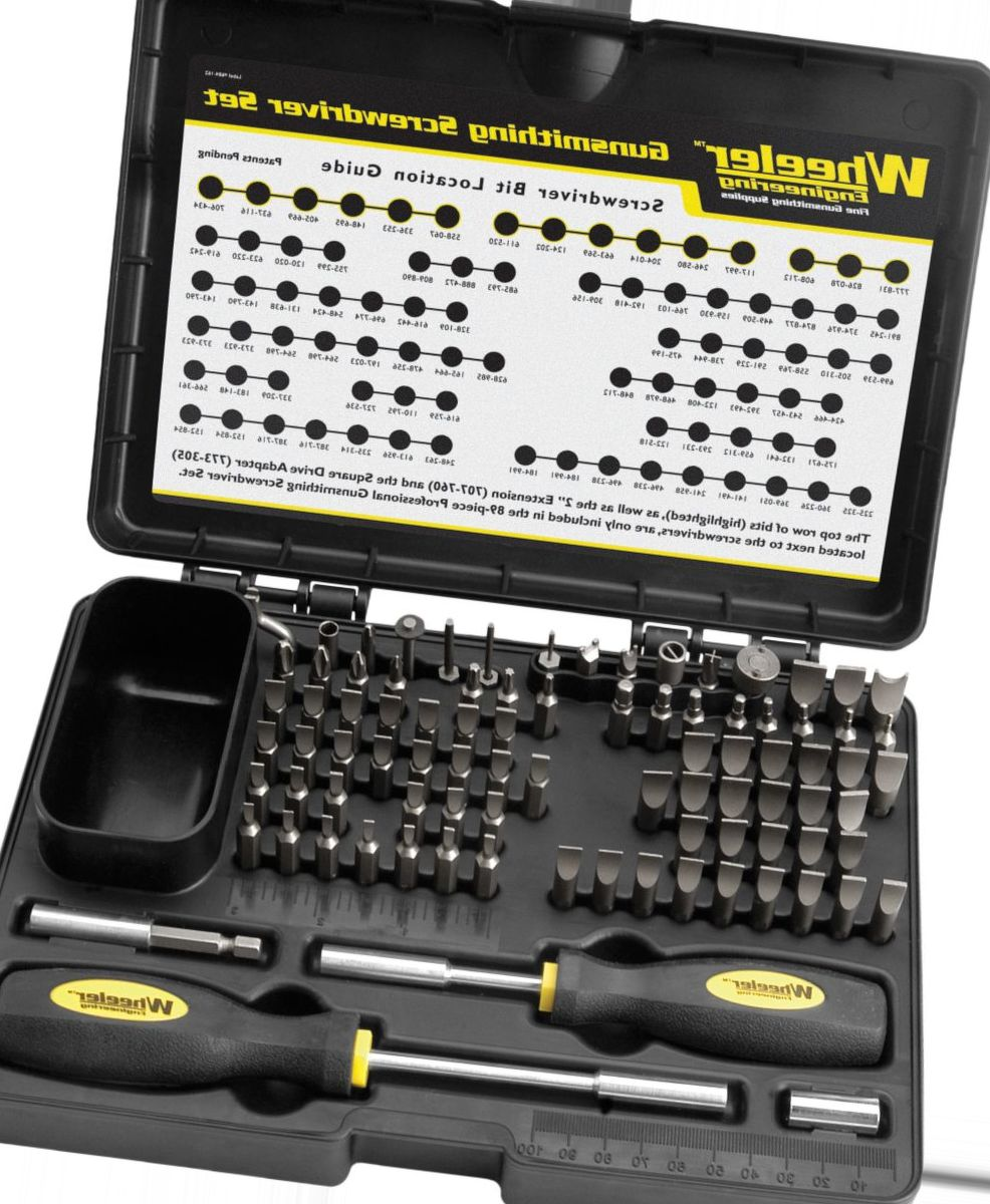 Wheeler® Deluxe Gunsmithing Screwdriver Set