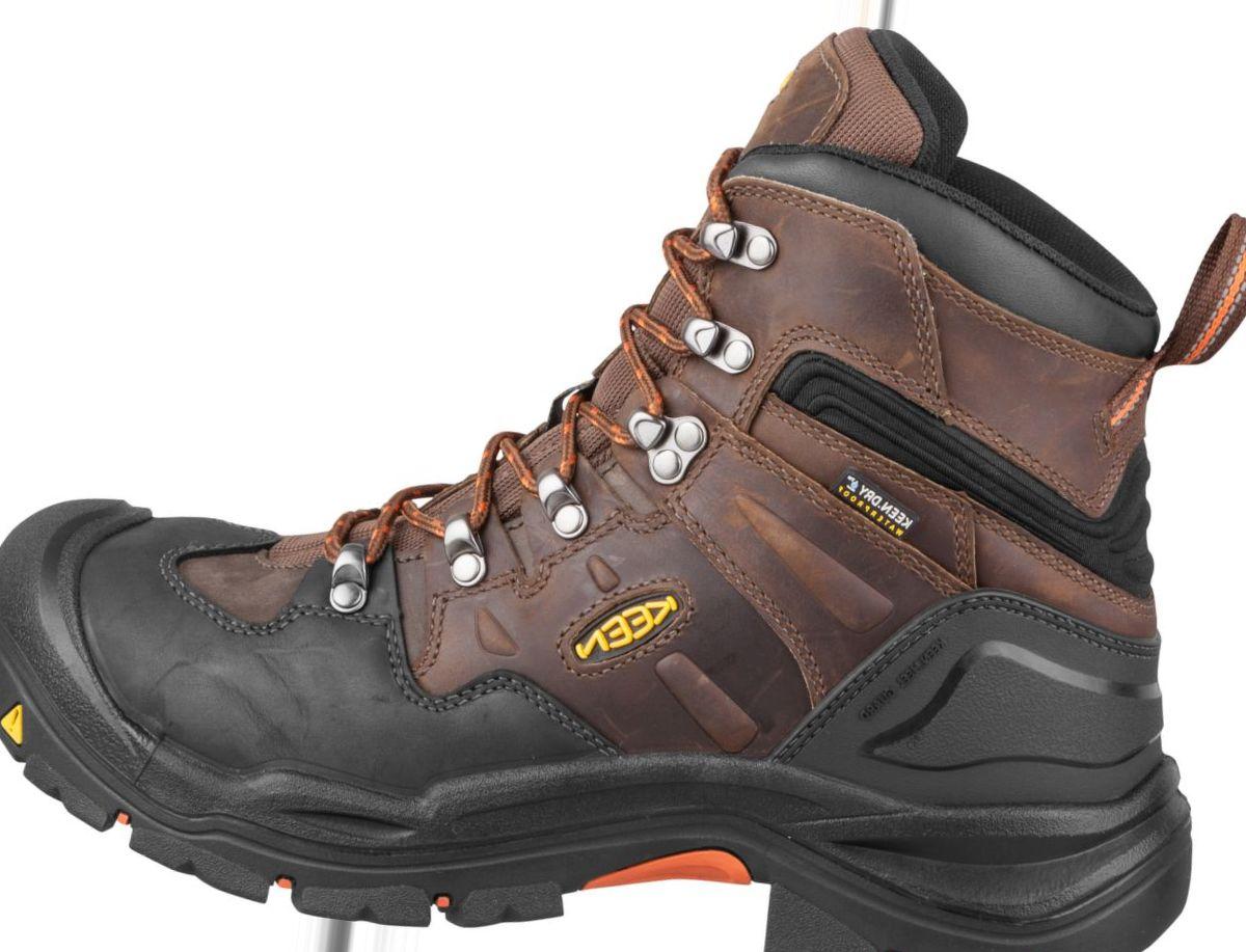 """KEEN Utility Men's Coburg 6"""" Waterproof Work Boots"""