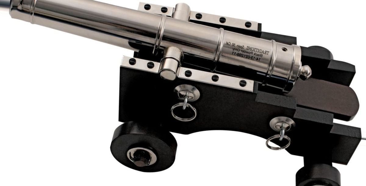 Traditions™ Mini Old Ironsides .50-Cal. Cannon – Nickel