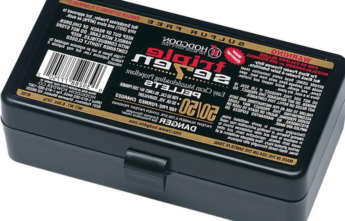 Hodgdon® Triple Se7en® Pellets - .45 Caliber