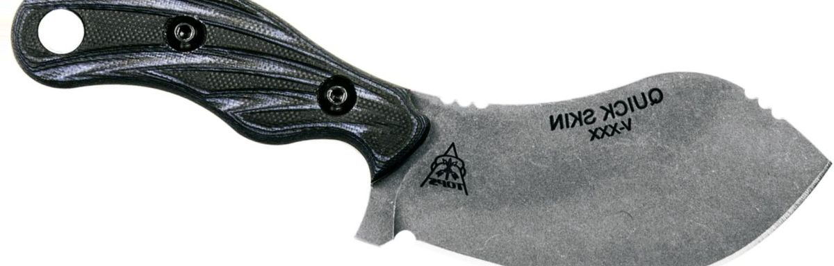 TOPS Knives Quick Skin Fixed-Blade Knife