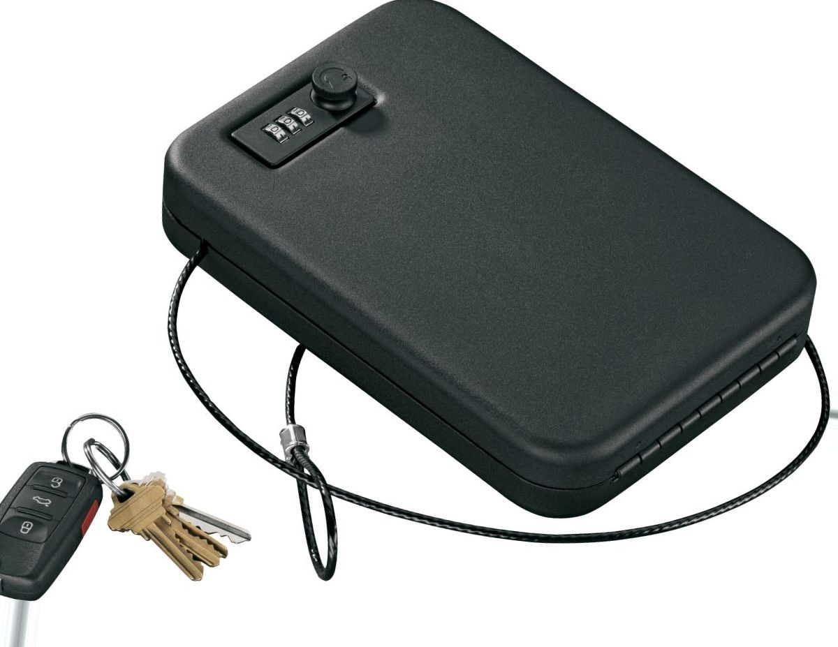 Stack-On Single Portable Case with Combo Lock