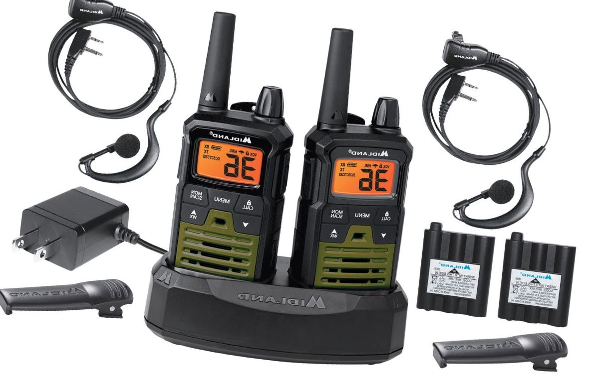 Midland® X-TALKER® T299VP4 Outfitter 2-Way Radio Pack