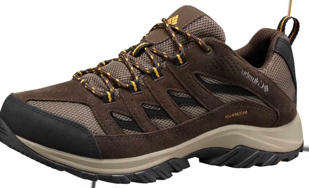 Columbia® Men's Crestwood Waterproof Low Hikers