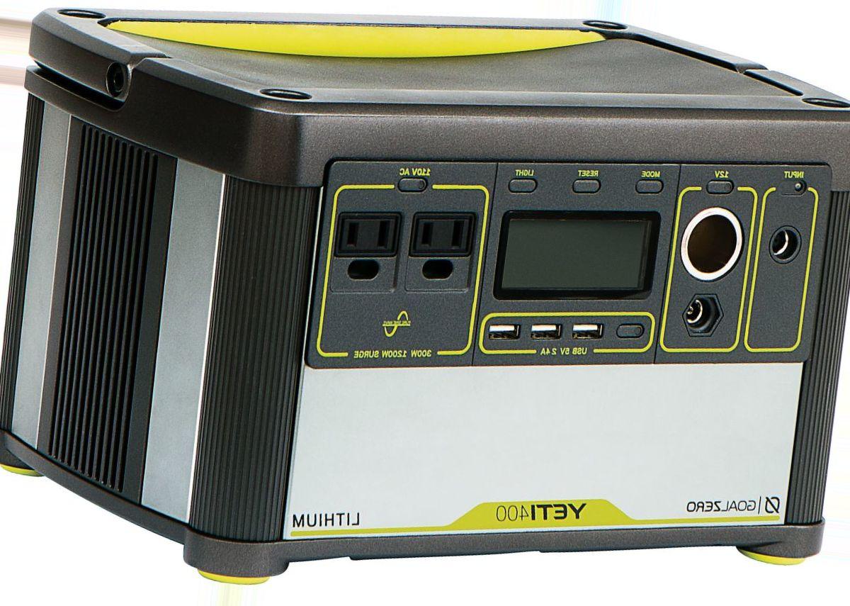 Goal Zero® Yeti 400 Lithium Portable Power Station