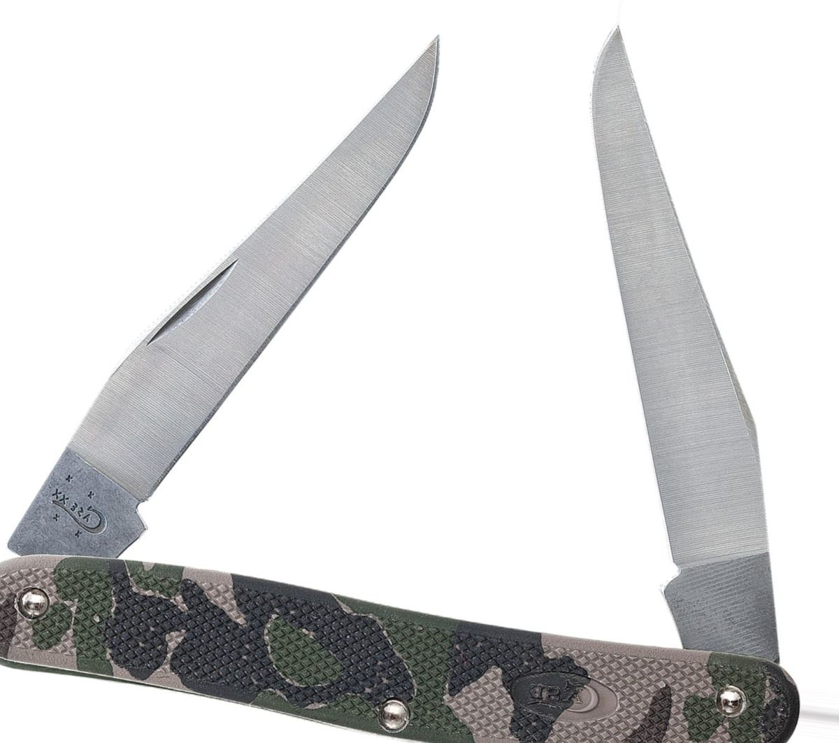 W.R. Case & Sons® Green Camo Folding Knives