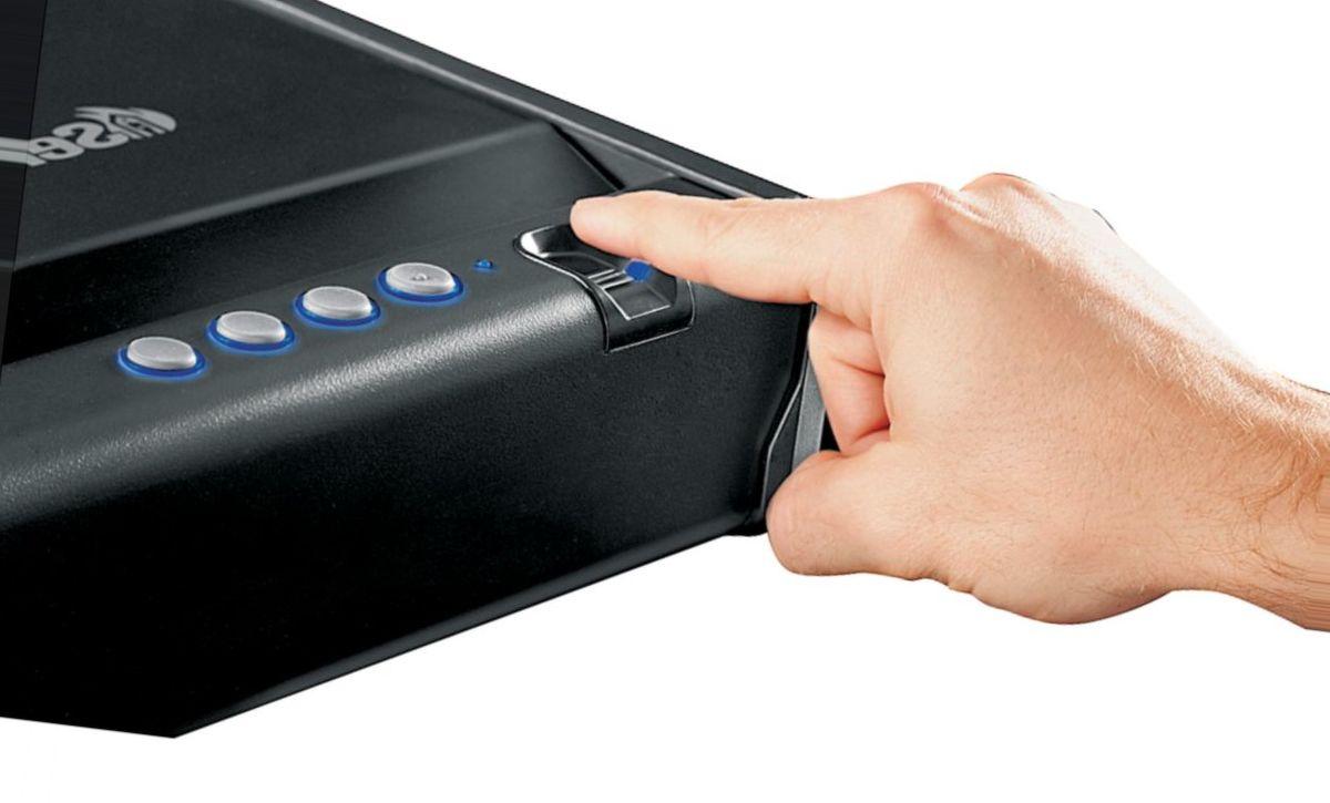 Sentry® Safe Quick-Access Biometric Pistol Safe