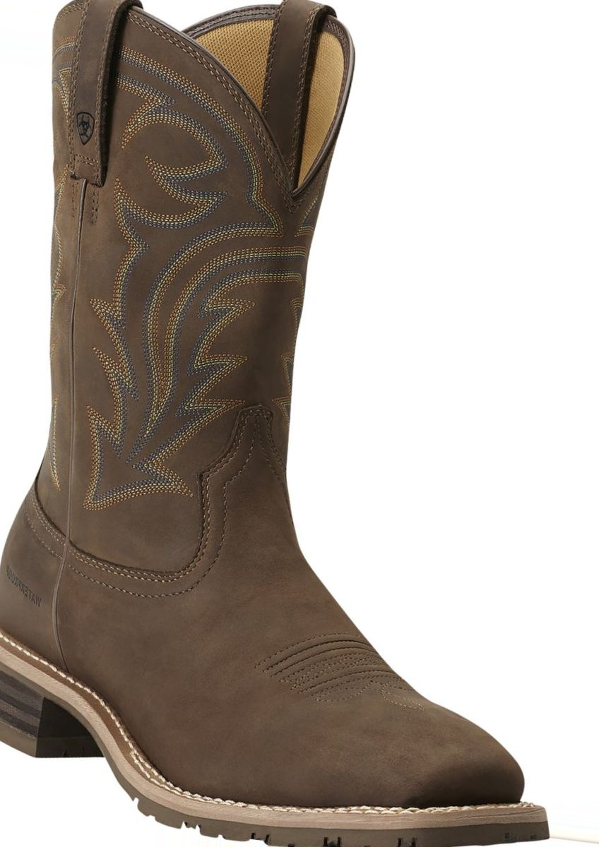 Ariat® Men's Hybrid Rancher H20 Waterproof Wide Square-Toe Western Boots