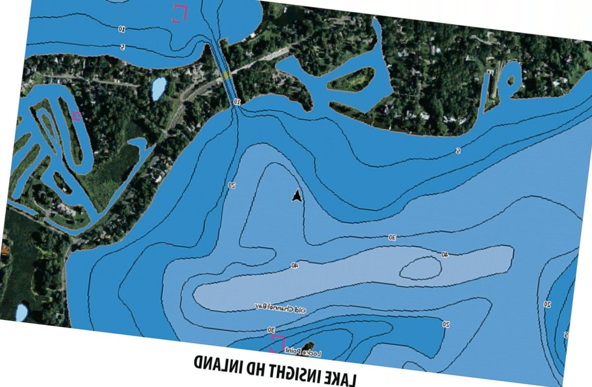 Lowrance® C-MAP Lake Insight™ HD Mapping