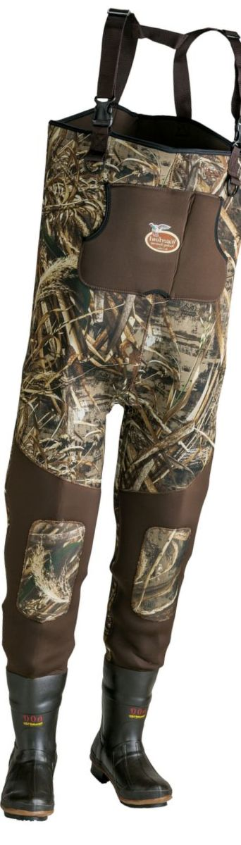 Caddis Men's Realtree MAX-5® Neoprene Bootfoot Waders – Regular