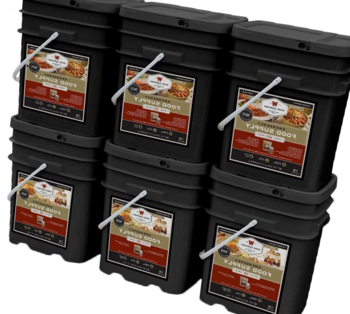 Wise Company Emergency Food Kit – 720 Servings