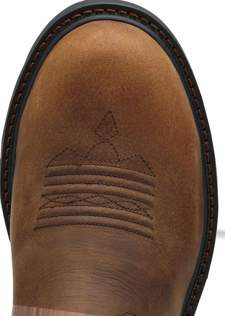 Ariat® Groundbreaker Pull-On Steel-Toe Western Boots