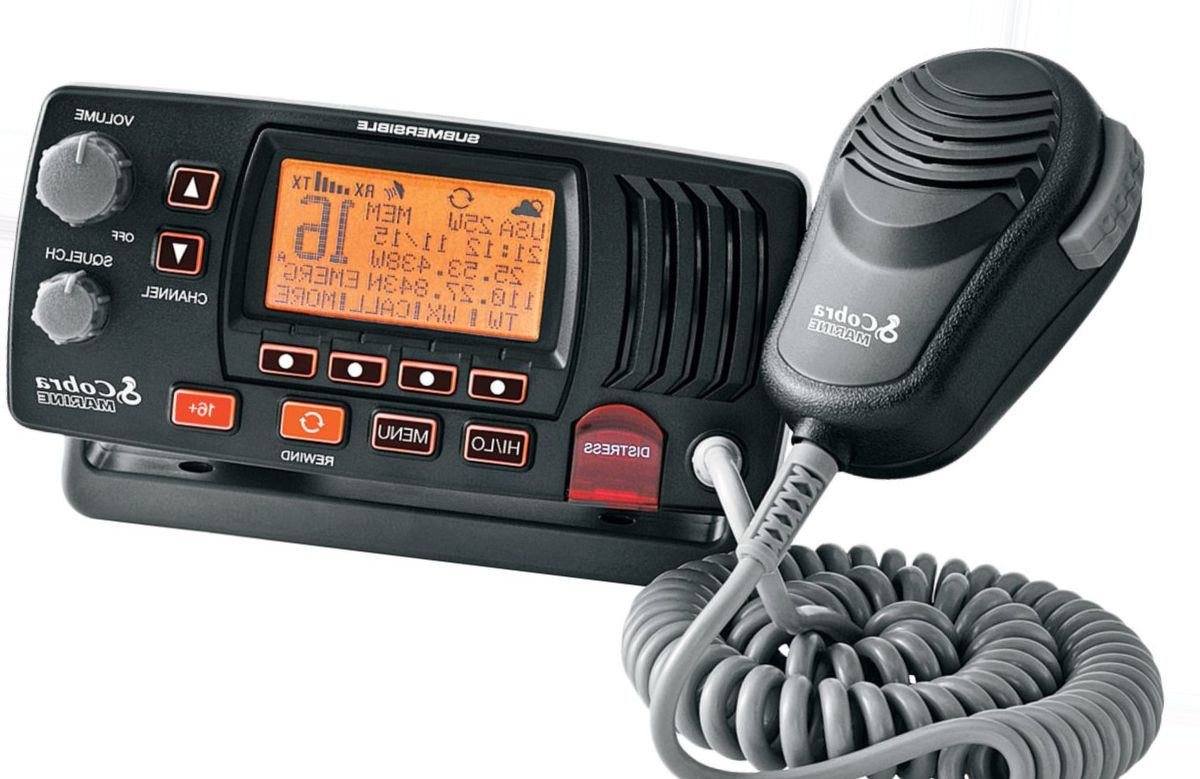 Cobra® MR 57B DSC Fixed-Mount VHF Radio