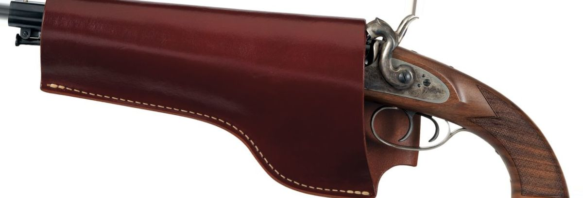Triple K Leather Holster for Pedersoli Howdah Hunter Pistol