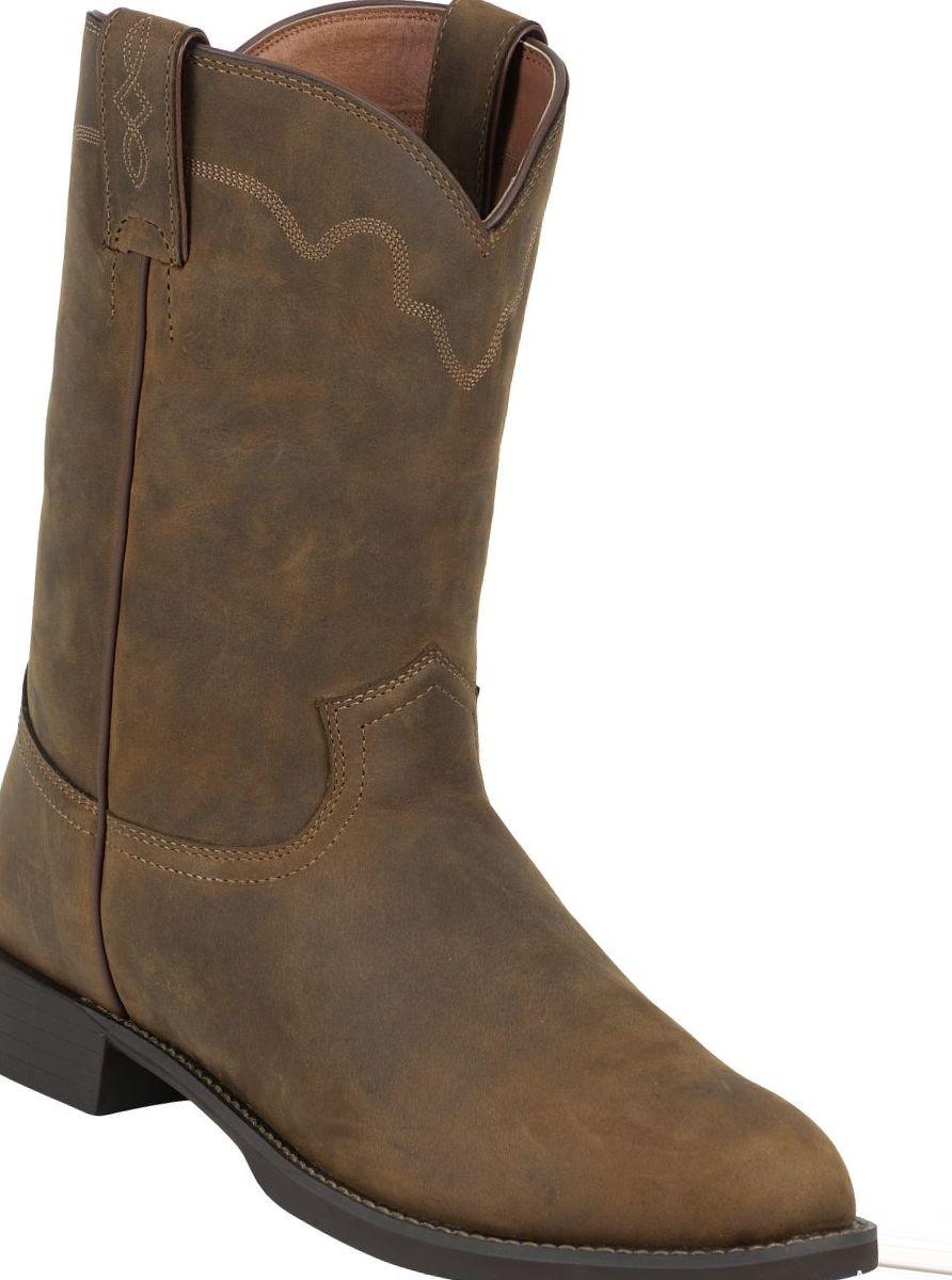 Justin Boots® Men's Stampede Roper Western Boots