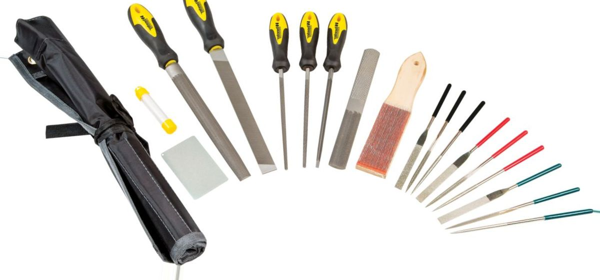 Wheeler® Professional Gunsmithing File Set