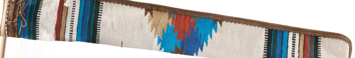 Indian Print Muzzleloader Gun Case