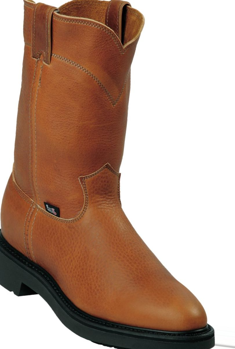 """Justin Boots® Men's 10"""" Copper Caprice Pull-On Work Boots"""