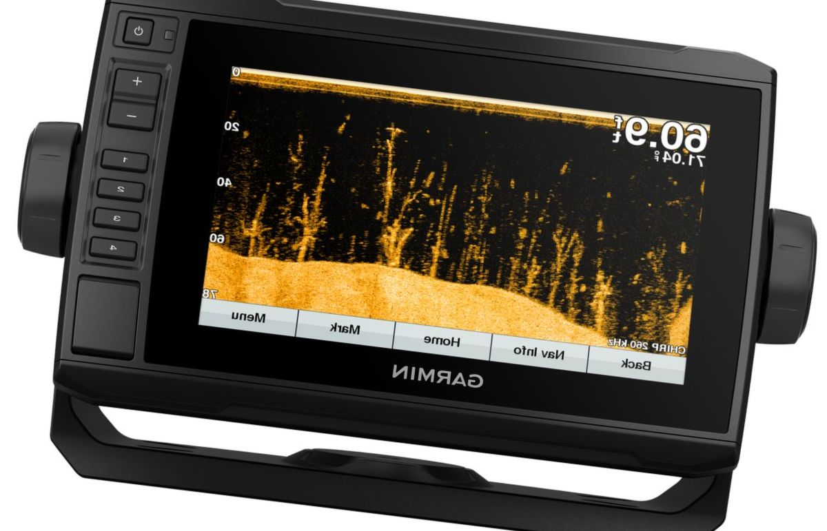 Garmin® echoMAP™ Plus 74cv GPS Fishfinder/Chartplotter Combo with GT23 Transducer and BlueChart® g3 Charts