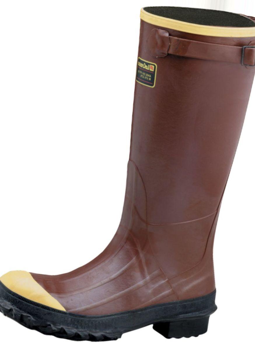 """LaCrosse® Pac 16"""" Rubber Boots – Steel Toe"""