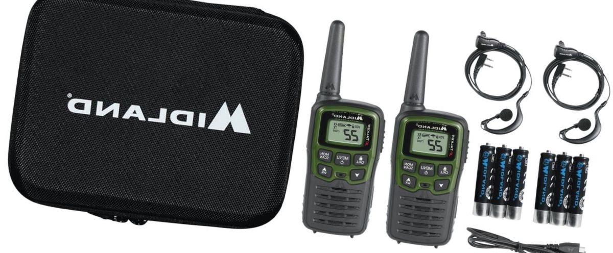Midland X-Talker EX36VP Guide Pack 2-Way Radio 2-Pack Kit