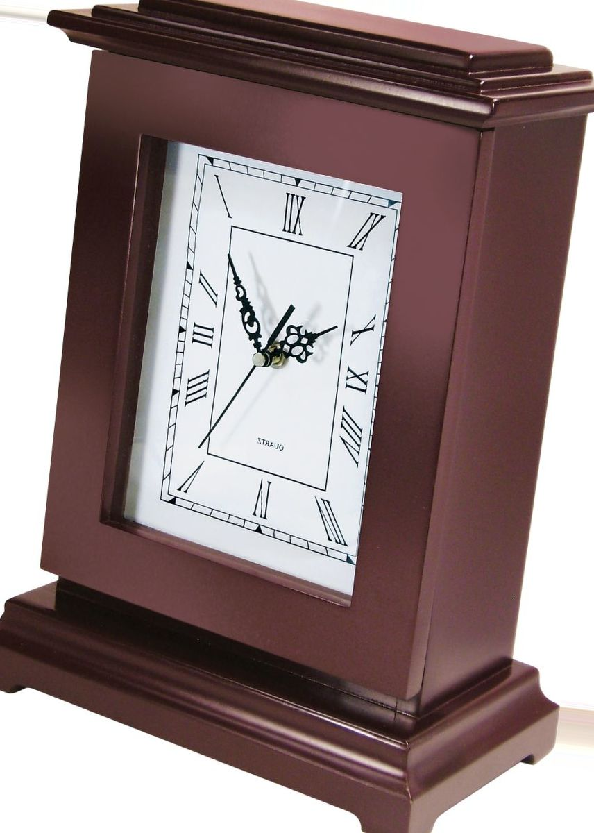 Rectangular Gun Concealment Clock