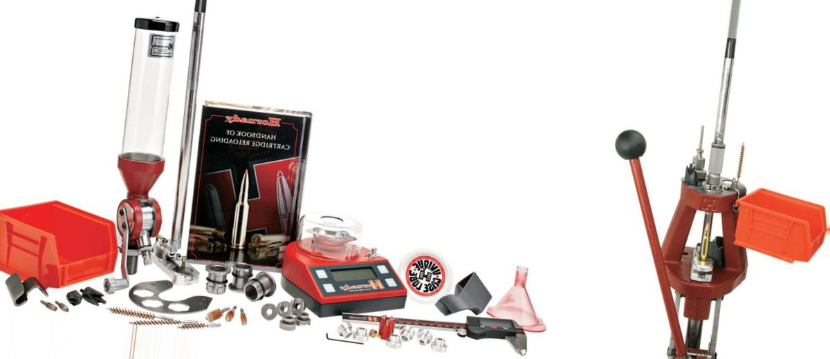 Hornady® Lock-N-Load® Iron Reloading Press Kit